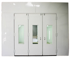 Full Downdraft Paint Booth