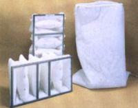 24 x 24 x 20 5 pocket w header 4 case paint booth for Paint booth filters 20x20