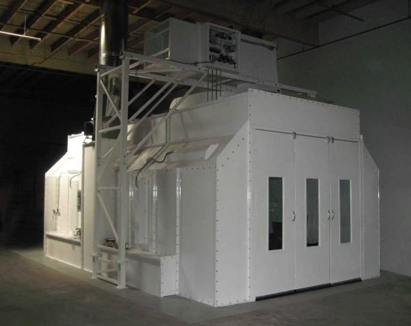 Colmet Ez 26 Classic Crossdraft Booth Paint Booth